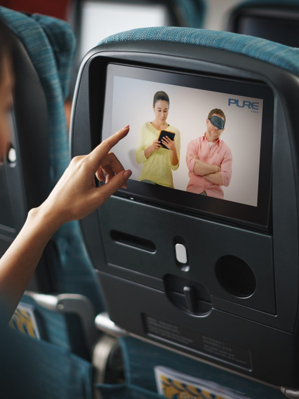 cathay pacific partners pure yoga